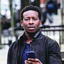 "Brandon Micheal Hall in ""God Friended Me"""