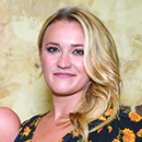 "Emily Osment stars in ""Almost Family"""