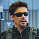 "Benicio Del Toro in ""Sicario: Day of the Soldado"""