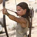 "Alicia Vikander stars in ""Tomb Raider"""