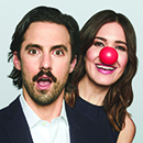 "Milo Ventimiglia and Mandy Moore in ""Red Nose Day"""