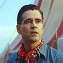 "Danny DeVito and Colin Farrell in ""Dumbo"""
