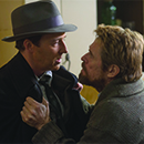 "Edward Norton and Willem Dafoe in ""Motherless Brooklyn"""
