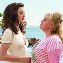 "Anne Hathaway and Rebel Wilson star in ""The Hustle"""
